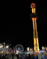 Missouri State Fair Midway by Strange-1