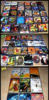 Playstation Collection by ZombiDJ