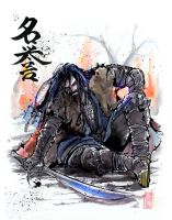 Thorin Oakenshield Sumie Style by MyCKs