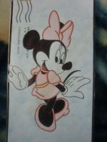 Minnie Mouse by AztecPrincess333