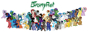 Bronies of Bronynet V4 by Spectty