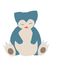 Snorlax from normal team, Sharlene by CleverConflict