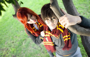 Harry Potter: Nostalgic Smiles by g-Kie