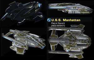 USS Manhattan by marhawkman