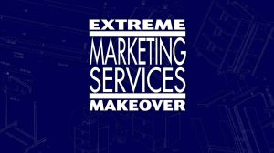 Extreme Marketing Services Makeover Title Graphic by graph-man