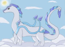 Sky dragon by TimberSoul