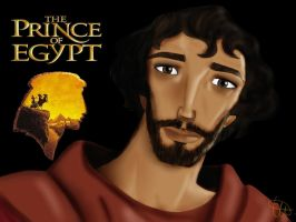 Prince of Egypt - Moise by Juna69