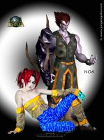 Noa and Songi by Lady-Vudu-doll