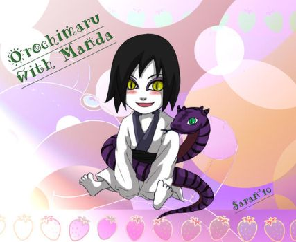 Orochimaru About 3 years old by SarangheOrochimaru