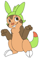 Chespin by Miiroku
