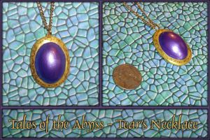 Tales of Abyss Tears Necklace by YellerCrakka