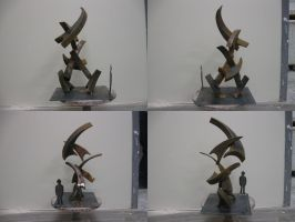 sculpture proposal w.i.p. 3 by JayRoth
