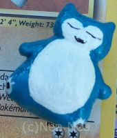Snorlax charm by ElectricDinoSaur