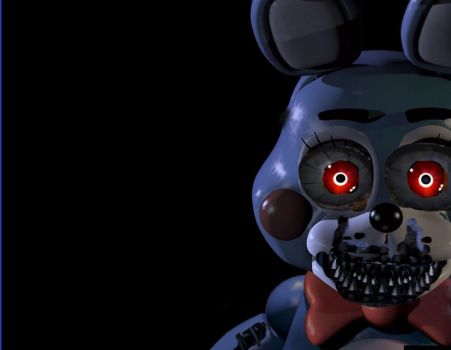 Nightmare Toy Bonnie Unfinished by BonnieThe