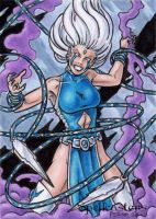 Spellcasters Sketch Card 20 by tonyperna