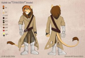 Captain Leo Dreadclaw Ironclad Reference by Tigsie