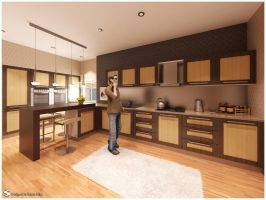 F.Showroom - Kitchen 01 by Semsa