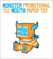Monster Mouth Paper-Toy by supahbuttahtoast