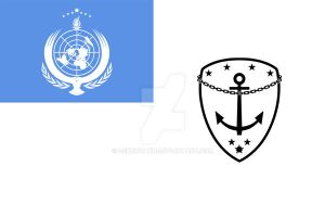 3D High: UN Navy (Naval Flag) by GeneralYin