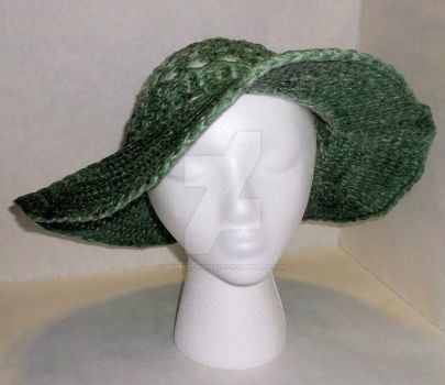 Loom Knitted Summer Hat 2 by ScarlettRoyale