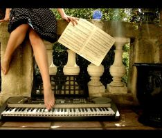 piano. by moumine