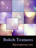 10 Free Bokeh Textures for February 2014 by ibjennyjenny