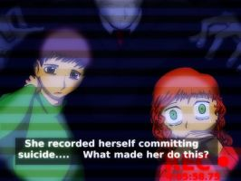 Slenderman Anime screenshot by Die-Laughing