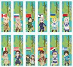 Chibi Hetalia Bookmarks Round 2 by DannimonDesigns