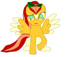 Sunspot the Blind Pegasus (Request) by Fluttershy-Lover
