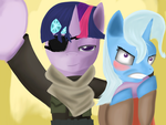 Metal Gear Twilight: Tactical Selfie Operations by nekoDawnlight