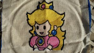 Princess Peach by starrley