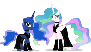 Royal sister's night out by A4R91N