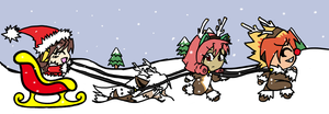 Dashing Through the Snow by Lexial-XIII