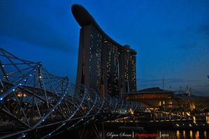 Marina Bay Sands Hotel by flatline06