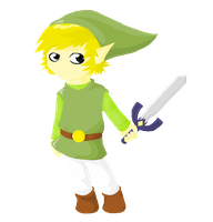 Wind Waker Link by Zilla-Hearted