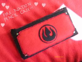 Pencil Case of the Fire Nation by suzannedcapleton