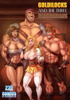 Goldilocks and the Three Bearbarians Cover by zzzcomics