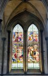 Church Stainglass Window by Cynnalia-Stock
