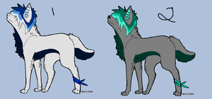 Scene Dog Adopts (CLOSED) by AvalaAdopts