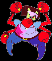 oH YEAH GARNET KRABS- by The-Star-Hunter