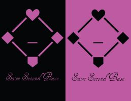 Second Base - tee design by boxlesssketch