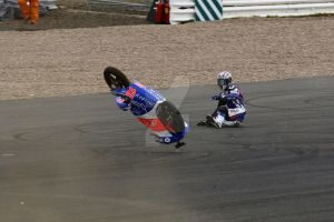 Danny Kent crashes his moto3 @ Silverstone by Petrol-Head-Images