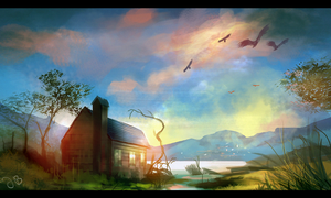Lake House (Photostudy) by Jalapenostark