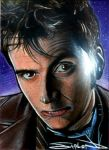 10th Doctor Sketch Card by RandySiplon