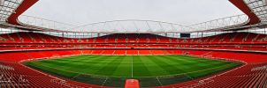 Emirates Stadium London 2 by Nightline