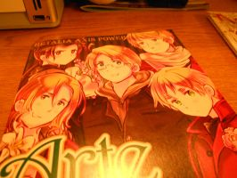 Hetalia Art Book by Angel1224