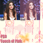 PSD Touch of pink by:me! {Polidesigns} by Polidesigns