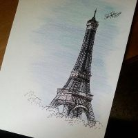 Eiffel tower  by SalmaZaki