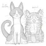 My Cats by ForestGlade