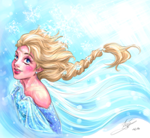 Snow Queen by sarumanka